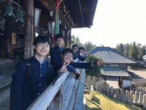 中学修学旅行