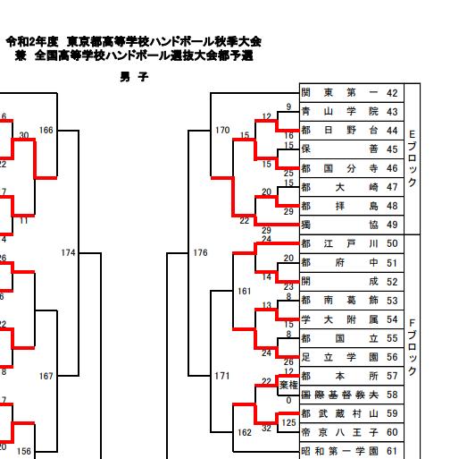 ハンドボール部新人戦二回戦 (6)