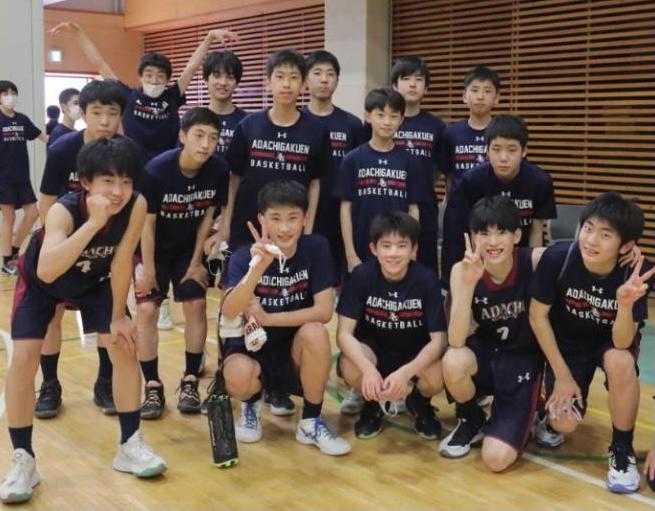 中学バスケ1
