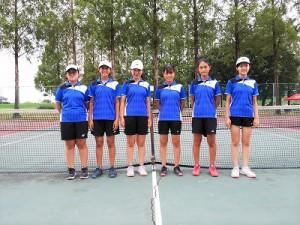 中学テニス部 北関東大会出場決定!