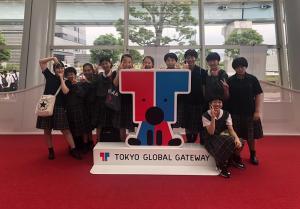中学全学年 TOKYO GLOBAL GATEWAY研修