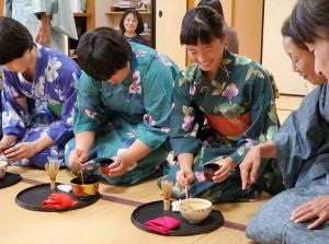 中学 日本文化体験