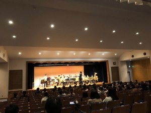 吹奏楽部 卒業コンサート