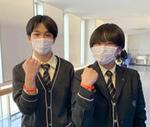 「#つなぐ」プロジェクト  卒業生橋岡君より