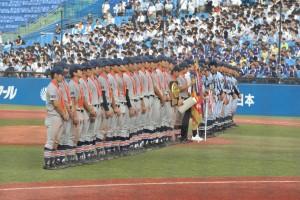 『月刊チャージ』八王子高校野球部特集記事