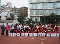 第9回実践女子学園ソフトテニス研修会が行われました