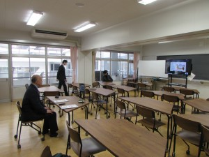 進学コース行事 1,2年合同進路講演会