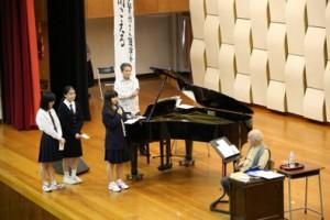 《講演会》谷川俊太郎さん・賢作さんの講演会を行いました【図書委員会主催】