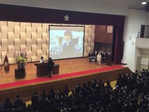 《学園日誌》 神奈川学園高等学校 第72回卒業式