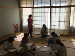 【中2学年】英語合宿 1日目