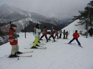 (中学1年生)スキー実習