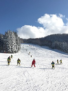 錦城高校54回生スキー旅行