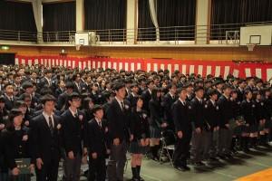 【高校】第69回卒業式を行いました