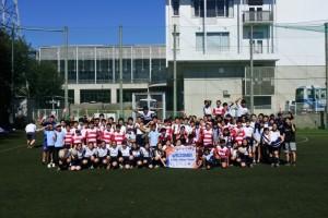 【国際交流】ミャンマーのインターナショナルスクールとのラグビー交流
