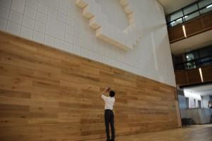 工学院大学新宿キャンパス新アトリウム デジタルアートコンペティション、最終選考に向けて高校2年生が始動