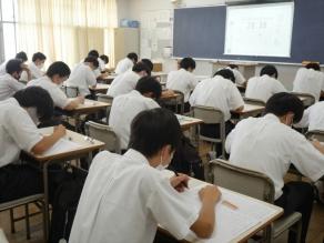 中学3年生 校内学習教室 4日目