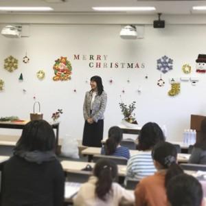 仏教校ですが、クリスマスもお祝いします!と校長より