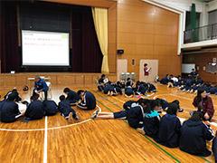 4月25日(水) 高校1年生オリエンテーション合宿(2日目)