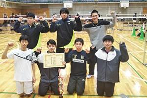 高校バドミントン 西東京大会 男女準優勝!