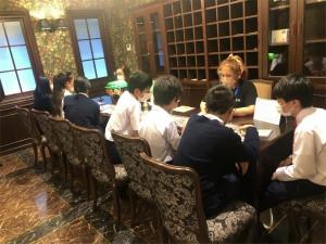 中学2年生 昨年に引き続き、TGG(東京グローバルゲイトウェイ)に行ってきました。