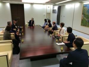 国際ソロプチミスト横須賀 表敬訪問
