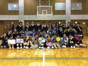 中学バスケ大会最終日
