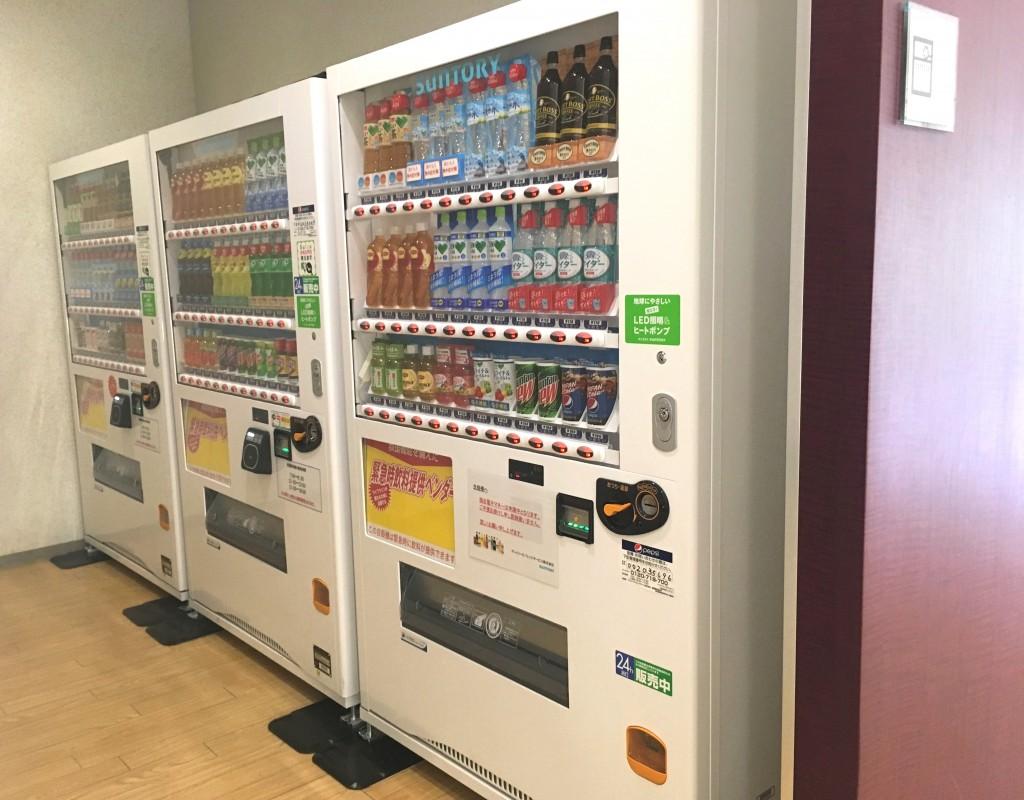 緊急時飲料提供販売機