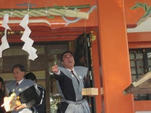 香取神社 節分祭