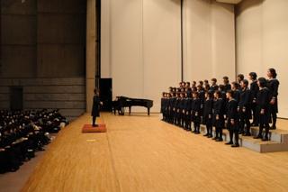 合唱祭は毎年、多摩センターのパルテノン多摩大ホールで行います!