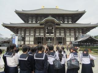高校2年生は奈良・京都へ。日本の伝統文化を学びます。