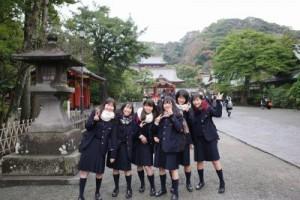 1年生 校外教育が鎌倉で行われました!