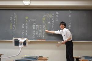 中学国語動画撮影