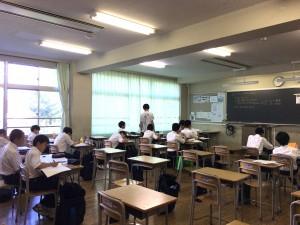 中2中3はメリハリをつけた学習をしていきます