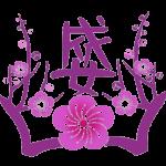 成女ロゴ(透過)