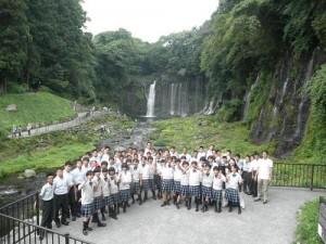 中学1年生 西湖宿泊研修