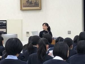 """高2LHR講演会 「学んでみよう """"憲法""""キホンのキ」"""