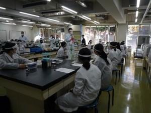 東京薬科大学に研究体験に行ってきました!!