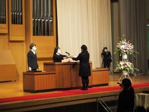 東京純心女子高等学校 第55回卒業式