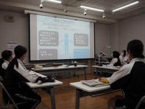 「大学講義体験」東京純心大学看護学部 5/12