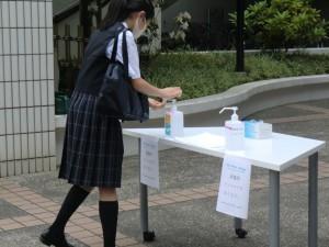 【学校行事】準備登校【中学1年】
