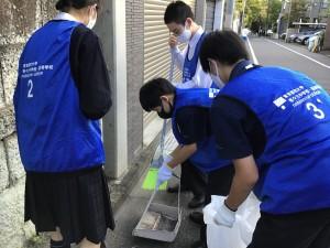 【委員会】地域清掃を行いました【インターアクト・ボランティア委員会】