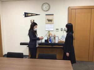 【部活動】ボランティア スピリット アワード「コミュニティ賞」受賞!【合唱部】