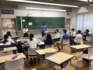 【行事】イングリッシュ・サマーコースが開催されました【中学1年・中学2年】