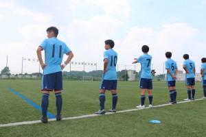 【部活動】全国高校サッカー選手権大会東京都1次予選1回戦勝利【高校サッカー部】
