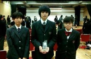 「第18回田崎清忠杯私立中学校英語レシテーション大会」2位入賞(9年生)