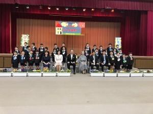 東星学園 校長・大矢正則 カトリック ミッション 男女 東星学園小学校入学式(7)