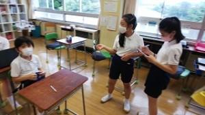 東星学園 校長・大矢正則 清瀬 私立 小学校 保健委員会の活動(2)