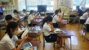 東星学園 大矢正則校長 カトリック ミッション 男女 読書&ICT(3)