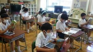 東星学園 校長・大矢正則 清瀬 私立 小学校 読書&ICT(2)