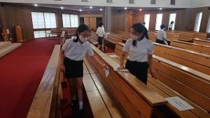 カトリック ミッション 男女 東星学園 大矢正則校長 児童ボランティア活動(3)